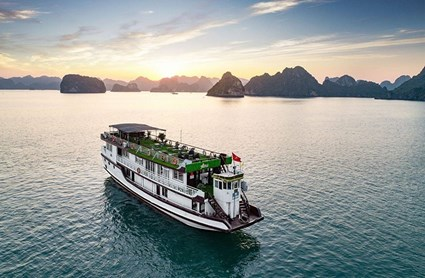 [Free&Easy Hạ Long] Du thuyền 3* New Star Cruise Hạ Long